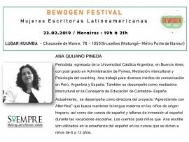 presentacines escritoras bewogen- siempre - ana quijano